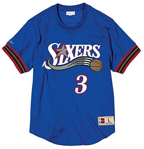 Allen Iverson Philadelphia 76ers Mitchell & Ness NBA Men