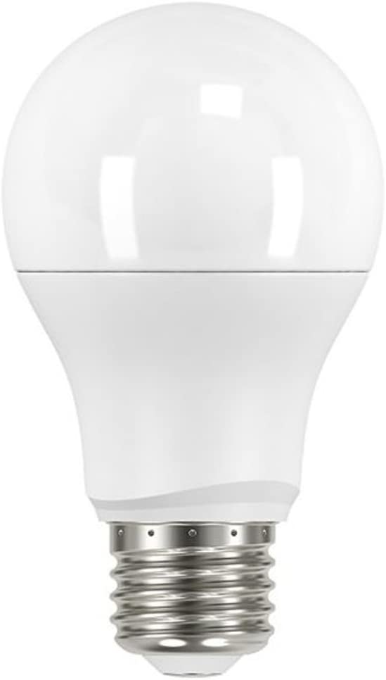Satco 9.5 watt; A19 LED; Frosted; 5000K Medium Base; 220 Beam Spread; 120 Volts; Non-Dimmable S9595 6 Pack