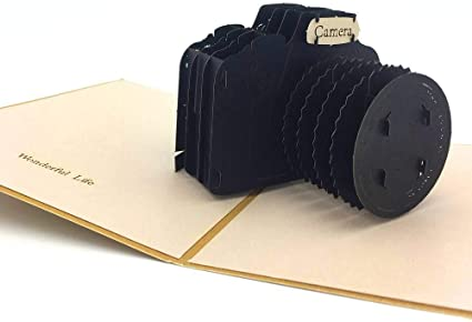 Nosto - Tarjeta de origami para cámara réflex 3D, para la mayoría ...