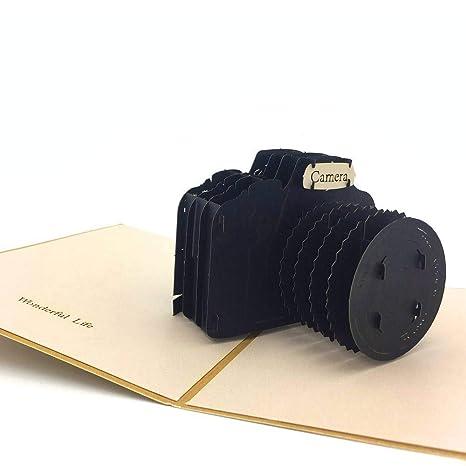Nosto - Tarjeta de origami para cámara réflex 3D, para la ...