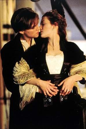 titanic leonardo dicaprio kate winslet kissing 24x36