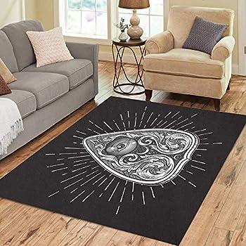 Amazon.com: Ouija Board Area Rug 4x6, Educational ...