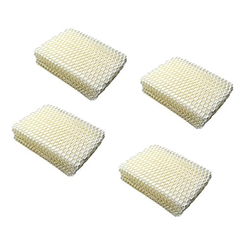 HQRP 4-Pack Humidifier Wick Filter for ProCare PCCM-832N Cool Mist Humidifier, AC813 PCWF813 PCWF813-24 Replacement Coaster