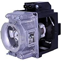 AuraBeam Professional Replacement Projector Lamp for Mitsubishi VLT-XL7100LP With Housing (Powered by Philips)