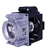 AuraBeam Professional Mitsubishi VLT-XL7100LP Projector Replacement Lamp with Housing (Powered by Philips)