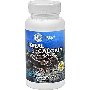 Tropical Oasis Coral Calcium 60 Cap