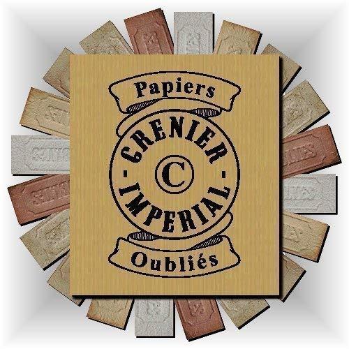 Assortment Forgotten Incense Burning Papers from GRENIER IMPERIAL Papier Parfum d