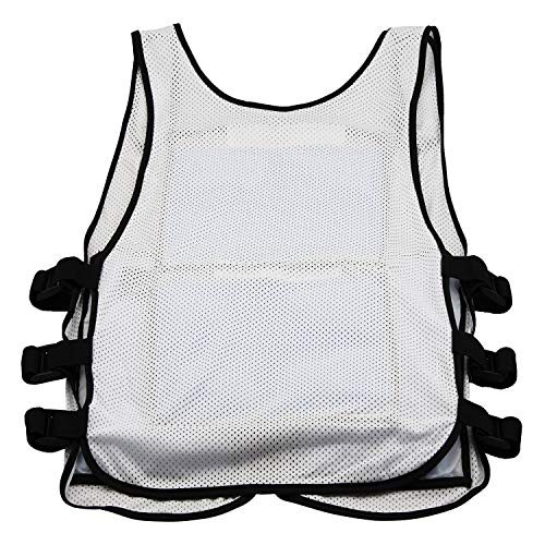 New Home Innovations Cooling Vest | Ice Vest - 8 x Body Ice Packs for Double Cooling Time - #1 Ice Cooling Vest for MS - Sport - Motorcycle - Cooking - Mascot - Cosplay Adjustable Cooling Shirt by New Home Innovations (Image #3)