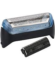 Elektrische Scheermes Scherm Folie Cutter Blade Elektrische Scheerapparaat Netto Montage 10B 20B Compatibel Met Braun 180 190 190S 1775 1735