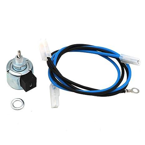 KIPA Carburador solenoide de Combustible 21188-7002 para Motor Kawasaki FR651V FR691V FS730V FH430V FH541V