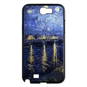 Van Gogh Phone Case For Samsung Galaxy Note 2 N7100 [Pattern-1] WANGJING JINDA