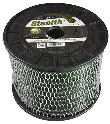 Silver Streak Stealth Trimmer Line.080 5 lb. Spool, ea, 1