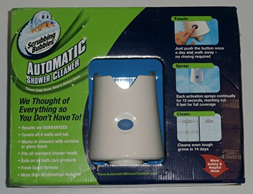 Scrubbing Bubbles Automatic Shower Cleaner Starter Kit, 1 ct by Scrubbing Bubbles (Image #2)