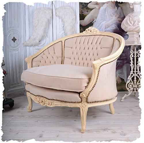 FRANZÖSISCHES Salon Sofa Vintage KANAPEE Boudoir Shabby CHIC ...