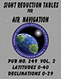 Sight Reduction Tables for Air Navigation Vol 2, National Geospatial-Intelligence Agency, 1469921456