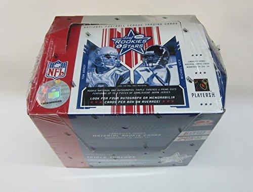 2005 Donruss Leaf Rookies & Stars Football Box (Stars Football Cards Hobby Box)