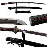 Shijian Samurai Swords 1060 High Carbon Steel Katana Sharp Blade With Hamon