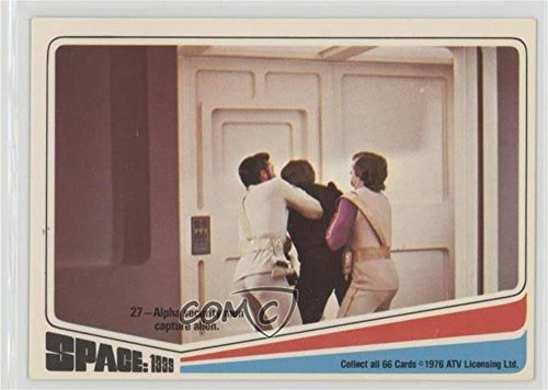 Alpha Security Men Capture Alien (Trading Card) 1976 Donruss Space: 1999 - [Base] #27