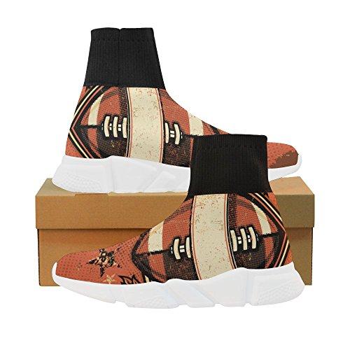 Leinterest Football Licorne Stretch Chaussette Chaussures Pour Femmes