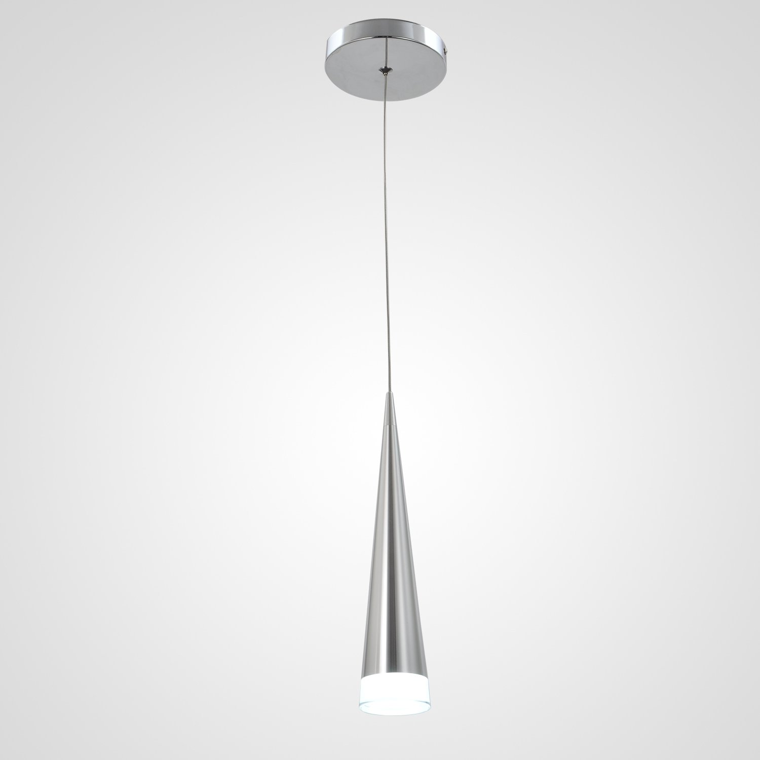 Unitary Brand Modern Nature White LED Acrylic Pendant Light Max 5w Plating Finish by Unitary (Image #2)