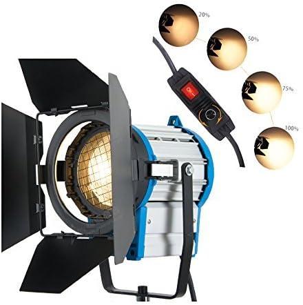 lampadina Barn Door pellicola ARRI 1000W Illuminazione Fresnel Tungsteno luce spot Studio Video