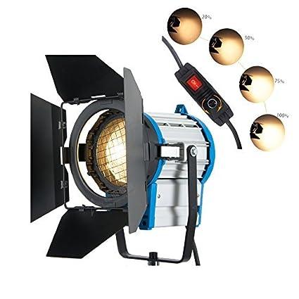 Film Arri 1000w Eclairage Fresnel Tungsten Lustre Video Studio