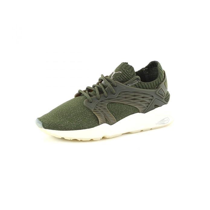 Puma Blaze Cage Evoknit, Sneakers Basses Mixte Adulte, Noir Black-Steel Gray White, 40 EU