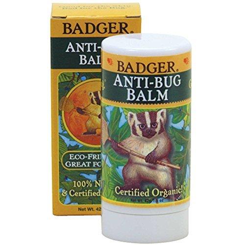 (Badger Organic Anti-Bug Balm -- 1.5 oz (Pack of 2) )