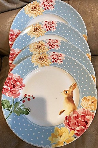 222 Fifth Dinner Plates Set of 4 (10.5\u0026quot; Diameter) LEANNA Springtime Easter Bunny & Amazon.com | 222 Fifth Dinner Plates Set of 4 (10.5"|331|500|?|604cbb3296083f28938f036e1241985d|False|UNLIKELY|0.361553430557251
