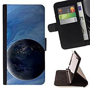 DEVIL CASE - FOR Samsung ALPHA G850 - Space Planet Galaxy Stars 4 - Style PU Leather Case Wallet Flip Stand Flap Closure Cover