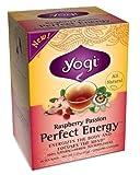 Yogi Tea Raspberry Perfect Energy Tea, 16 ct