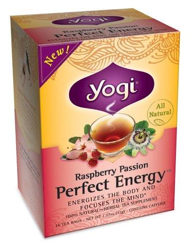 Yogi l'énergie Framboise Passion Parfait, 1,12 once paquets (paquet de 6)