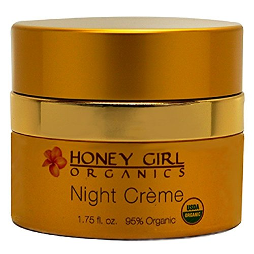 Honey Girl Organics Night Creme, 1.75 Fluid Ounce