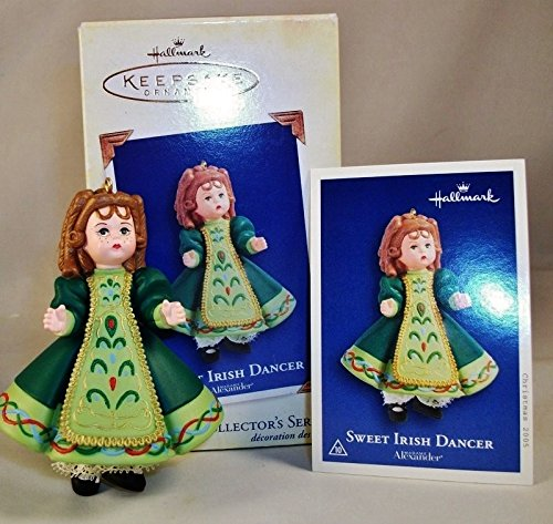 Hallmark Keepsake Ornament - Sweet Irish Dancer - Madame Alexander Series 2005 (10th in Series) (QX2055)