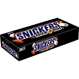 SNICKERS Rockin' Nut Road Singles Size Chocolate Candy Bars 1.76-Ounce Bar 24-Count Box
