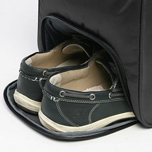"""51jDBApq8tL - Perry Ellis 22"""" Weekender Duffel Bag, Black"""
