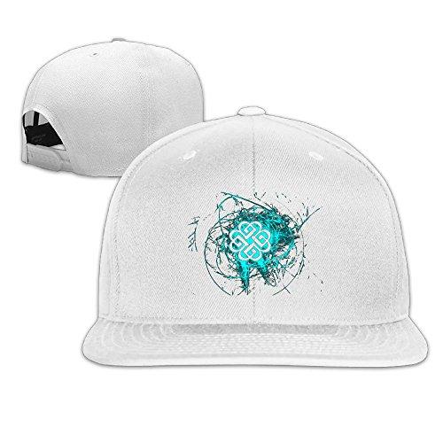 RobertJ.Rivera Unisex Women Man Breaking Benjamin Shopping Popular Hat White