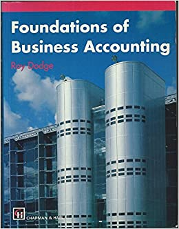 Book Foundations of Business Accounting