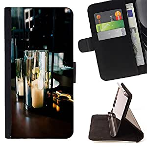 - Fire funny patter - - Wallet Pu Leather Credit Card Holder Pouch Case Cover FOR Samsung Galaxy S3 MINI 8190 Retro Candy