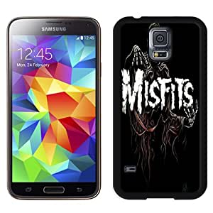 Durable and Easy set Galaxy S5 Case,Durable I9600 Case Design with Misfits Samsung Galaxy S5 SV I9600 Case in Black