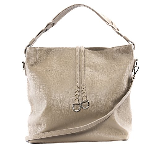 Taupe cuir DESTOCK collection Sac grainé femme à main nouvelle CUIR en xPAvnwqHC
