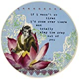 Enesco Holy Crap Coaster Set by Erin Smith, So Tired, 0.25-Inch