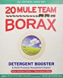 20 Mule Team Borax Detergent Booster & Multi-Purpose Household Cleaner, 65 Ounce (Pack of 6)