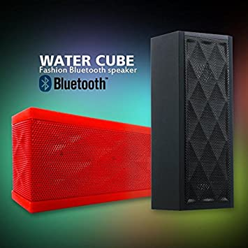 panmari Jambox estilo Mini Hi-Fi altavoz Bluetooth Wireless MP3 Caixa de SOM Altavoces Sistema de altavoces con micrófono FM de receptor de audio, ...