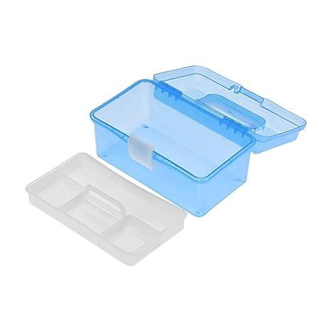 Cajas de almacenamiento y cofres Plástico transparente Caja ...