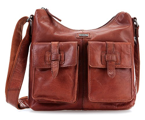 Shoulder Sparrow Spikes Bronco Bag Cognac amp; T58Rwqwgt
