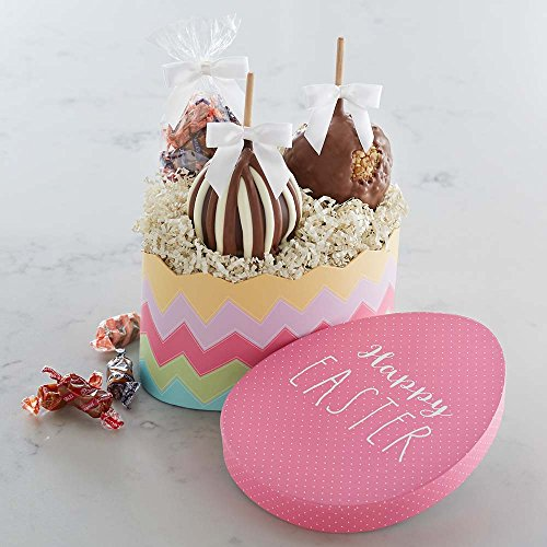 Old Fashioned Easter Candy (Mrs Prindables Happy Easter Petite Caramel Apple Gift Set)