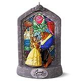 Hallmark Keepsake Disney Beauty and the Beast 25th Anniversary Holiday Musical Ornament