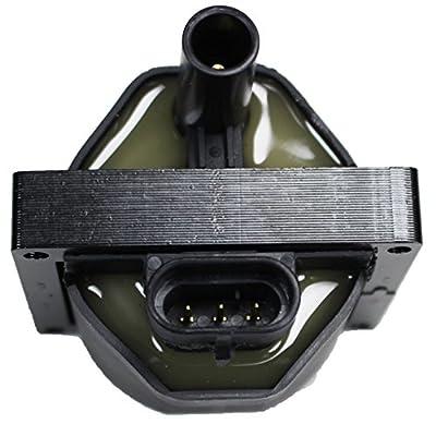 ENA Ignition Coil Compatible with 1996-2004 Buick Chevrolet GMC Cadillac Astro Express Silverado S10 Tahoe Safari Savanna Sierra Yukon Escalade 4.3L 5.0L 5.7L 10489421 D577 C1098 DR49: Automotive