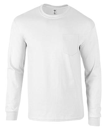 8e62baf5ab8 Amazon.com  Have It Tall Men s Long Sleeve Pocket T Shirt Ringspun ...